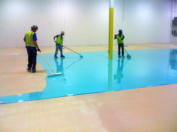 Commercial and Industrial Epoxy - Urethane Flooring Installation ...